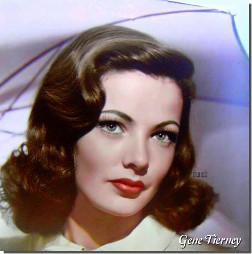 Gene Tierney Vintage Hairstyles Retro Hairstyles Hair Styles