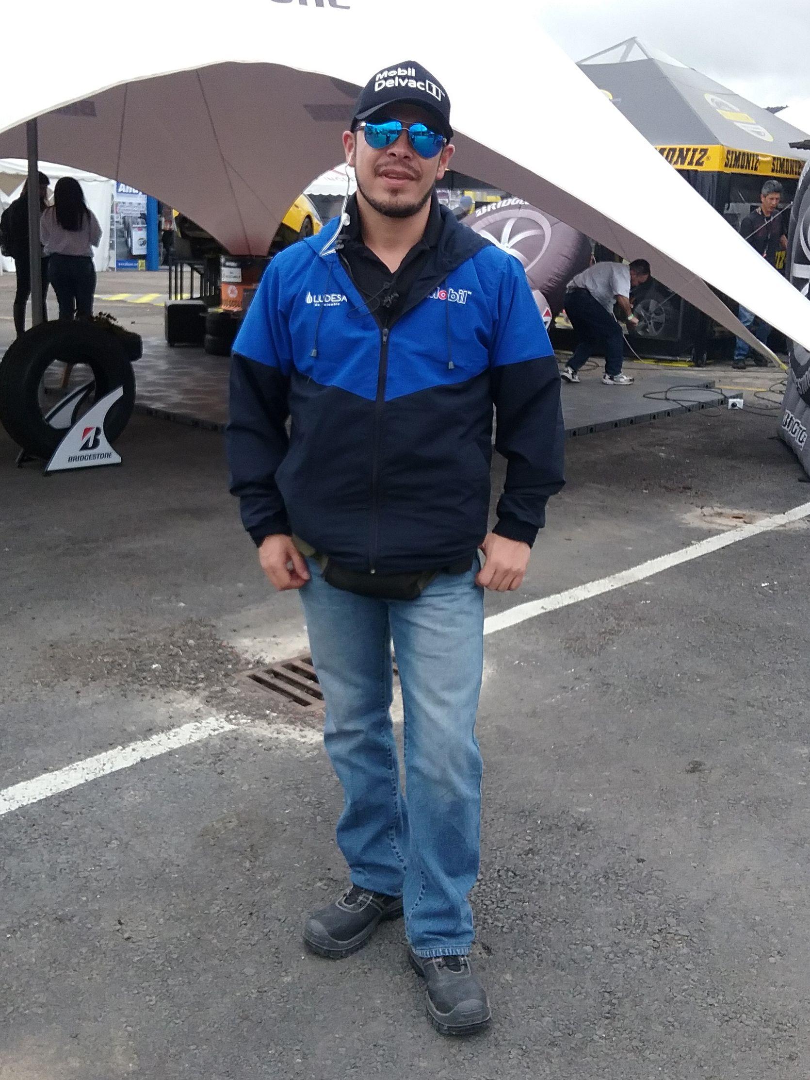 Edwin Rubiano Coordinador Nacional Marketing,Ludesa De Colombia , Evento, 29 Gran Premio Nacional Mobil Delvac.