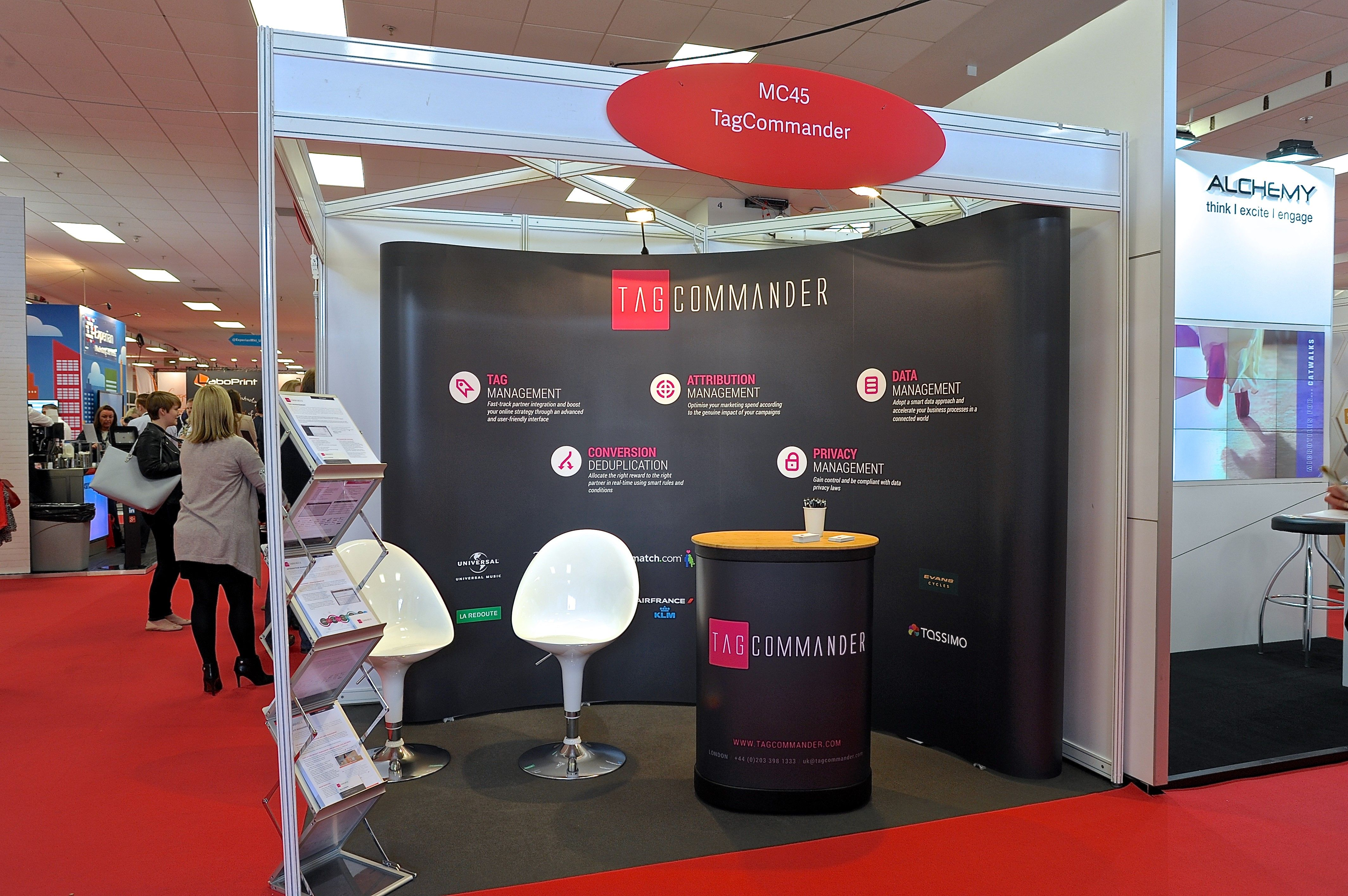 Marketing Exhibition Stand Out : Modular exhibition stand for tagcommander by