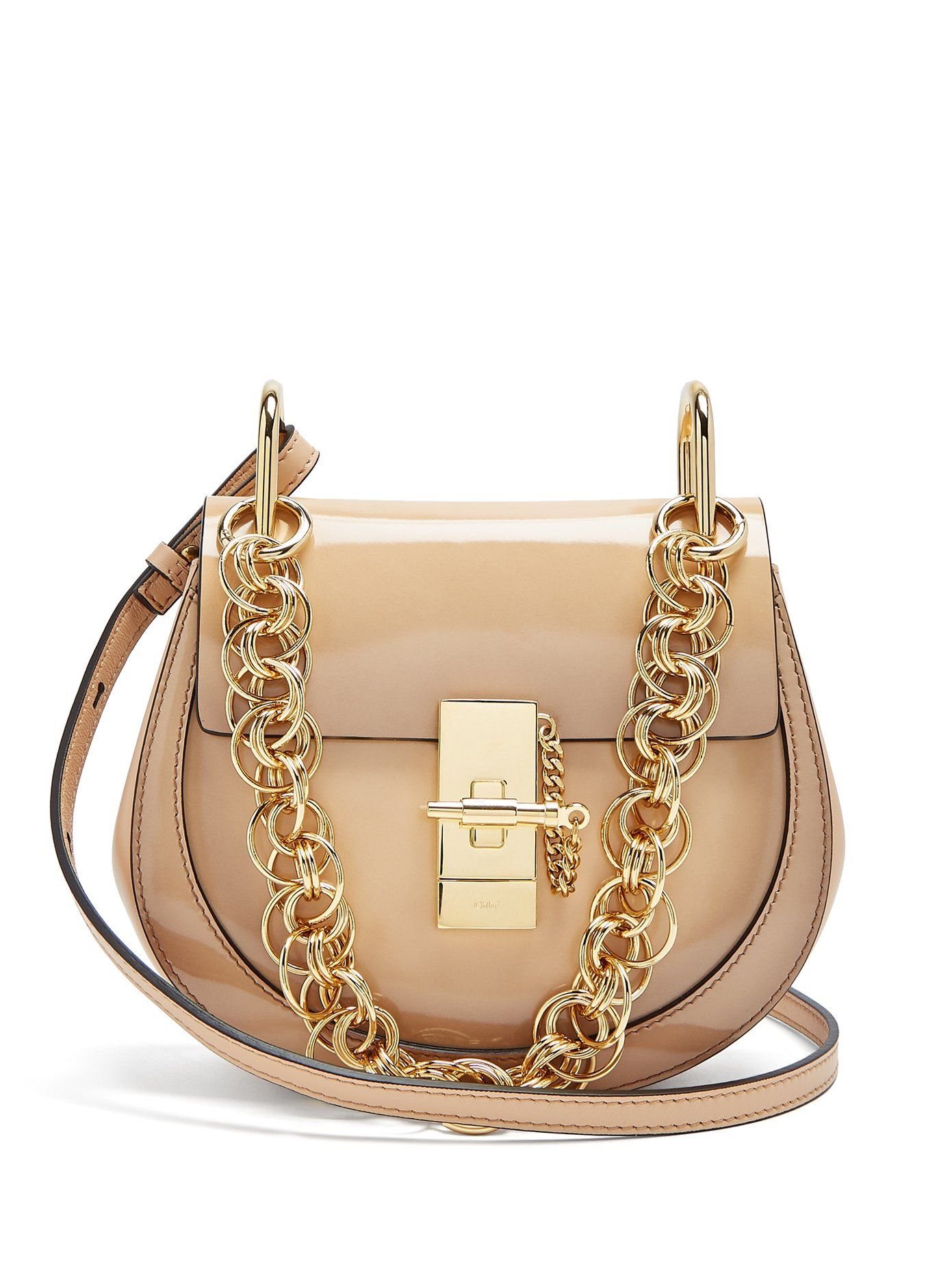 af0dd79af94 Chloe Drew Bijou mini leather cross-body bag | bags | Leather ...