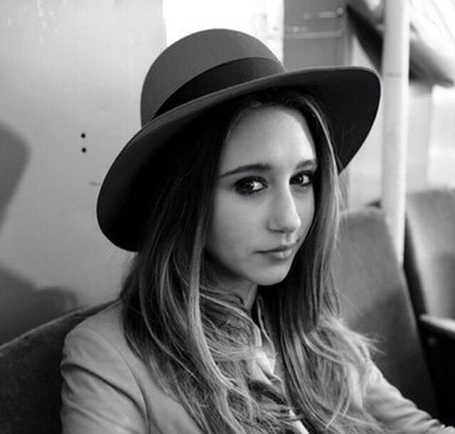 Violet Harman love the hat