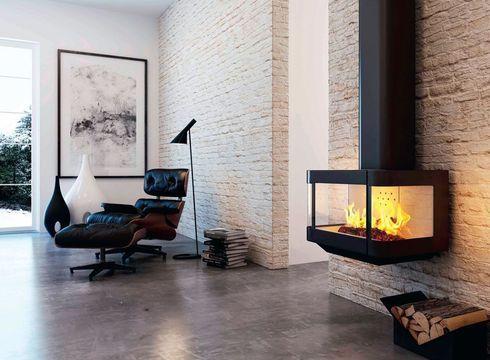Quel Poêle Ou Cheminée Pour Un Salon Design Fireplaces
