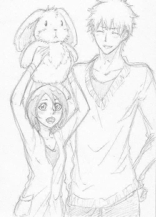Ichiruki 3 Bleach Anime Bleach Ichigo And Rukia Ichigo And Rukia