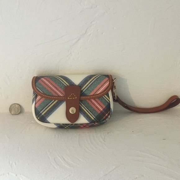 Dooney & Bourke wristlet A Dooney & Bourke wristlet, used once, like new! Dooney & Bourke Bags Clutches & Wristlets