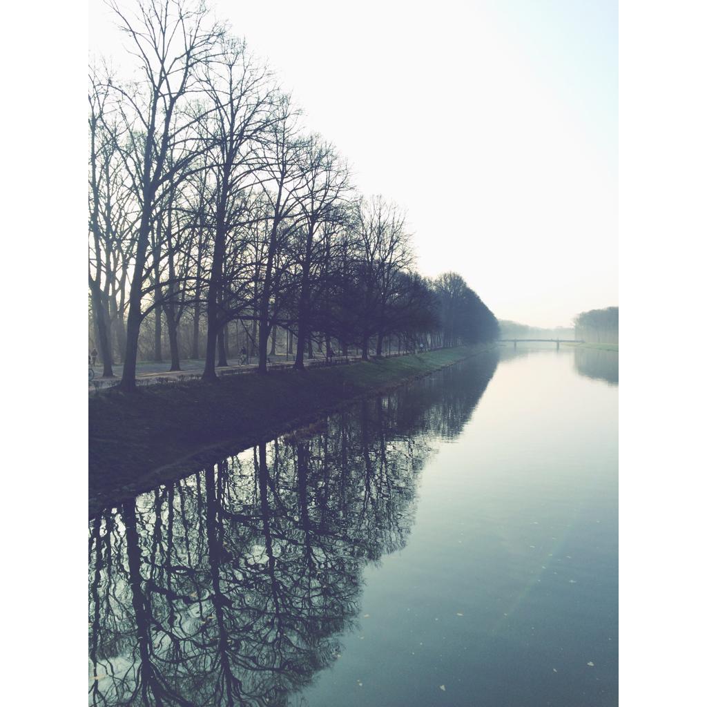 Leipzig erwacht! Unsere Stadtredakteurin hat diese Aufnahme beim Morgenlauf auf der Sachsenbrücke gemacht. <3