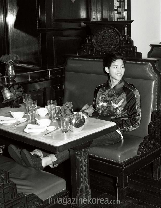 Song joong ki harper's bazaar. I really adore him.