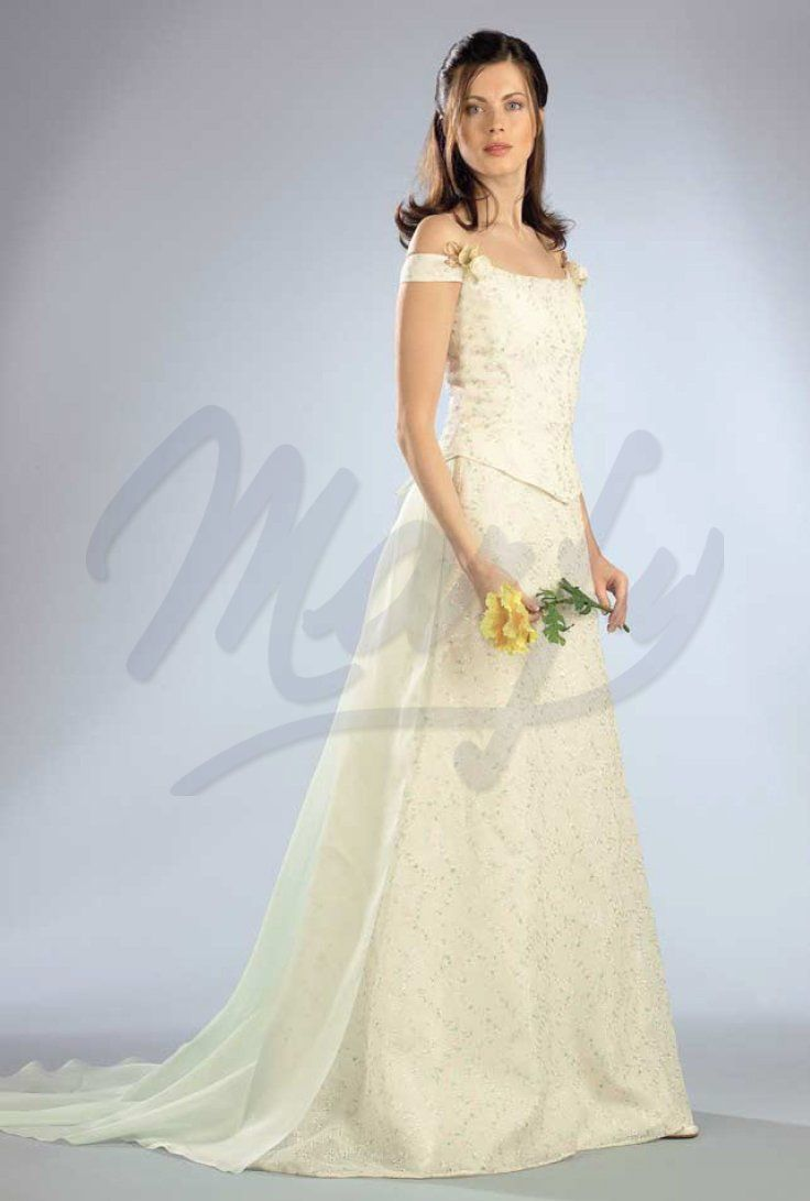 wedding dress pattern S507 | Marfy | Pinterest | Wedding dress ...