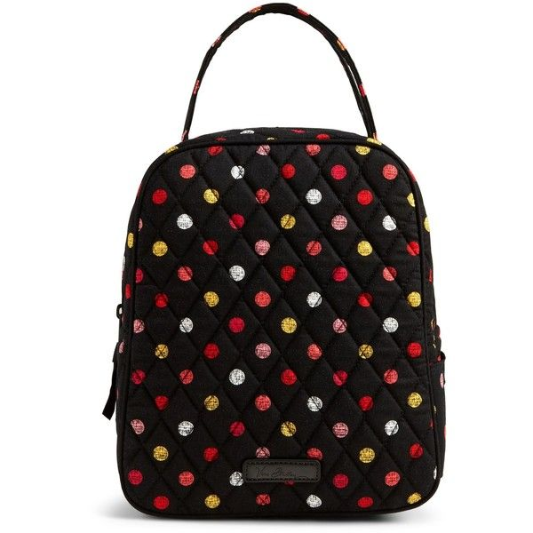Vera Bradley Lunch Bunch Bag in Havana Dots ( 34) ❤ liked on Polyvore  featuring home a68d7ea8e62a0