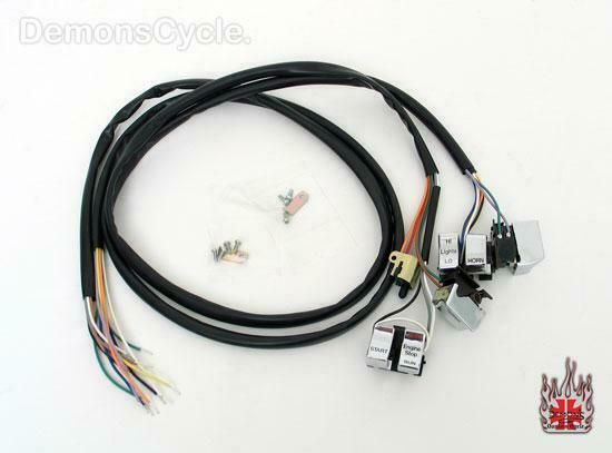 Sponsored(eBay) CHROME HAND CONTROLS SWITCHES WIRE HARNESS ... on