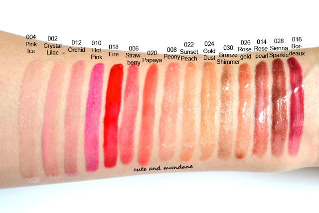 Revlon Colorburst Lipgloss Swatches Makeup And Beauty