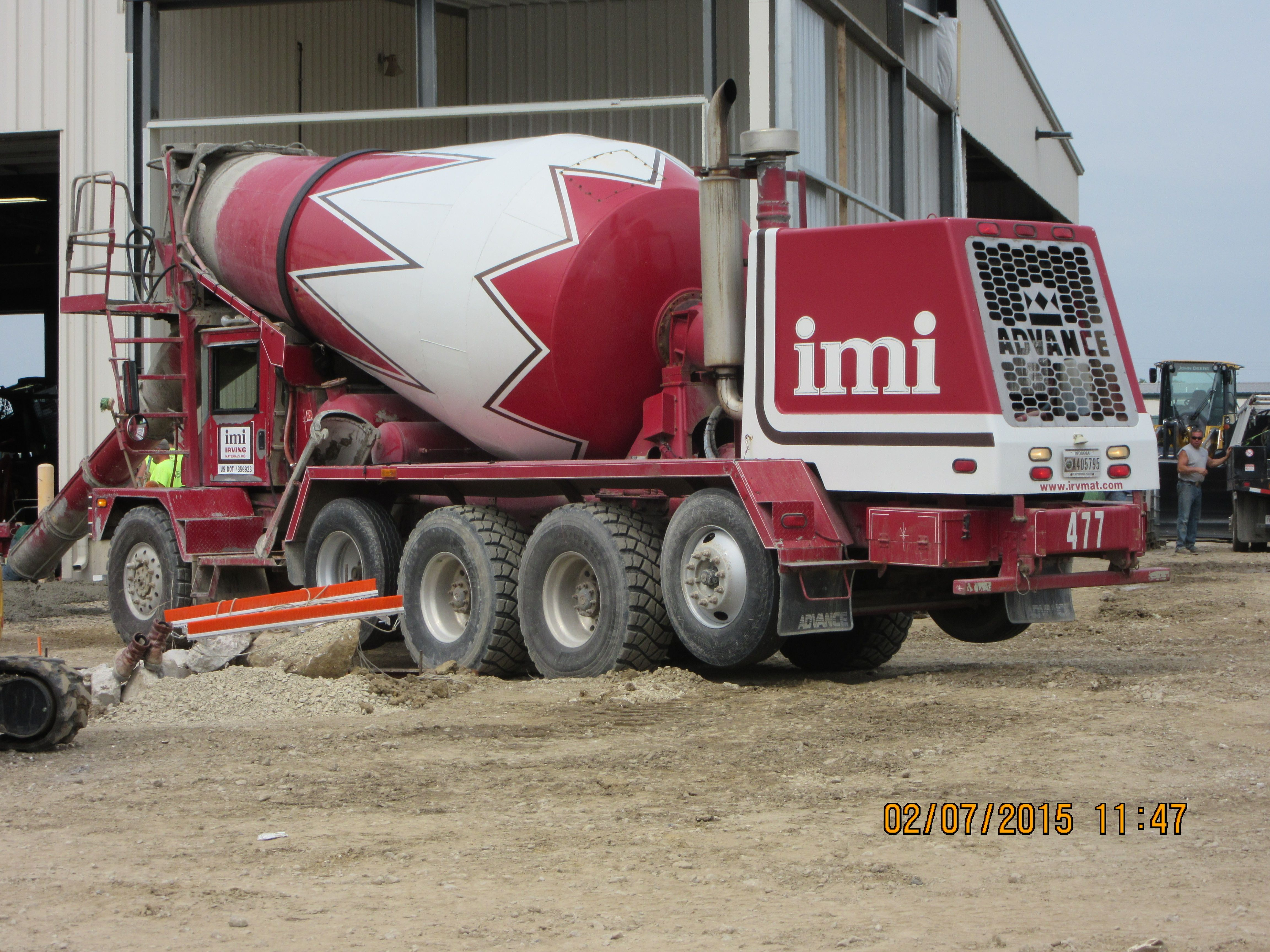 imi irving materials advance cement mixer my truck pictures