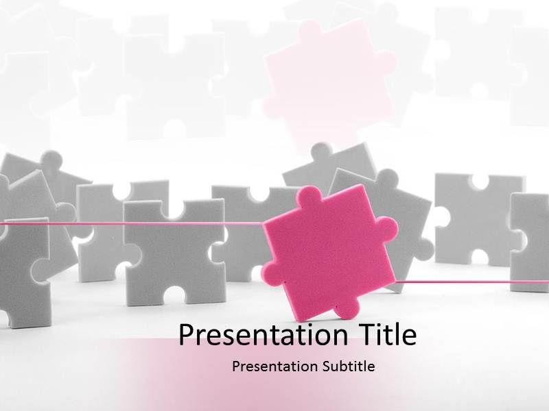 Ppt Puzzle Template  Puzzle Powerpoint Templates  Puzzle Ppt
