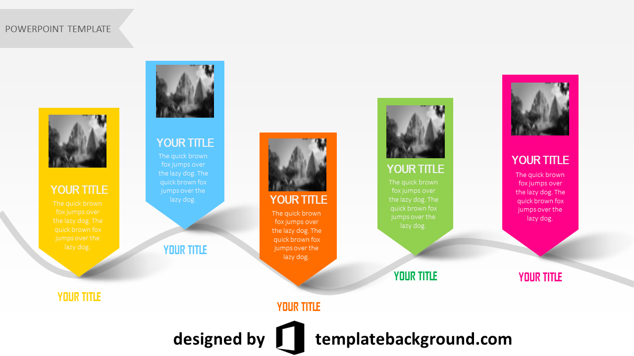 powerpoint template 3d monster - photo #13