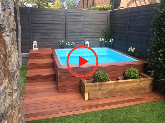 Above Ground Pool Ideas For Small Backyards Above Ground Pool Deck Ideas On A Budget Awesome Hot Tub Backyard Hot Tub Outdoor Garden Tub