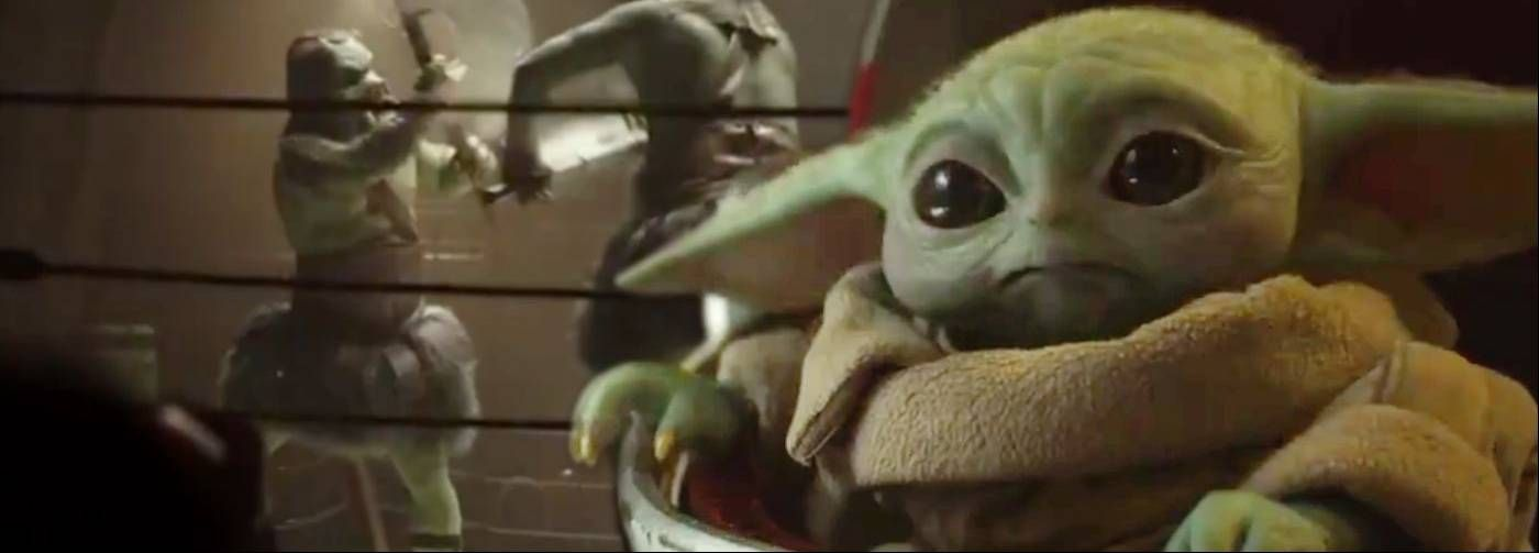 Now Baby Yoda Is Seen Traveling Through The Galaxy In The Voice Over You Can Hear Someone Describing The Star Wars Nerd Star Wars Memes Good Movies To Watch