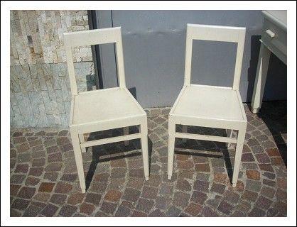 Sedie Retro ~ Sedie vintage di una vecchia scuola francese anni four chairs