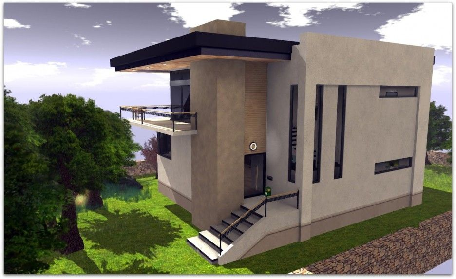 Ultra Modern Concrete House Plan httpmodtopiastudiocomthe