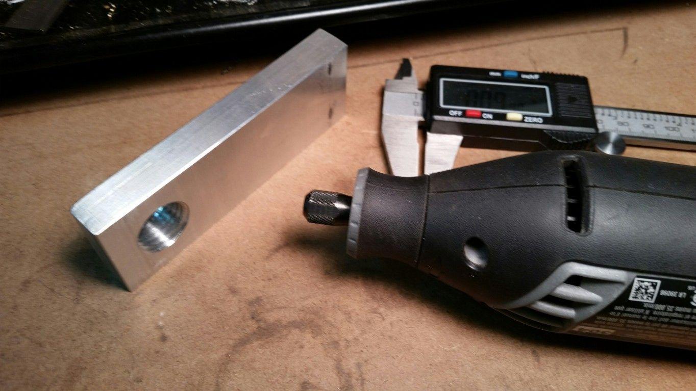 Make A Dremel Tool Holder For A Lathe Tool Post Newer Dremel