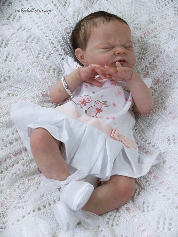 tr s r aliste b b nina reborn b b fille ou gar on fait sur baby reborn pinterest fille. Black Bedroom Furniture Sets. Home Design Ideas