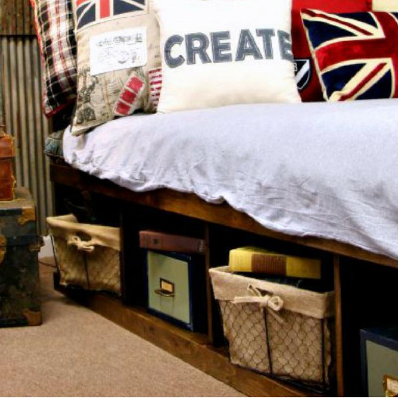 DIY Platform Bed with Cut and Supply List | Decoración