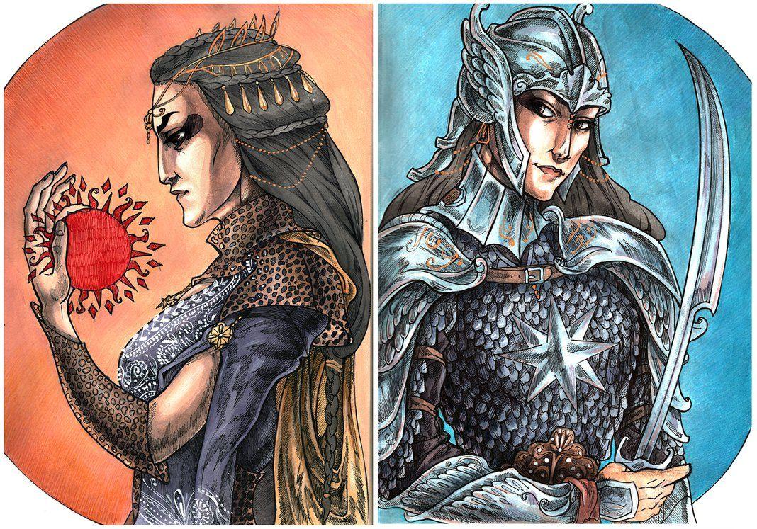 Queen Nymeria Of Rhoynar by ProKriK on DeviantArt