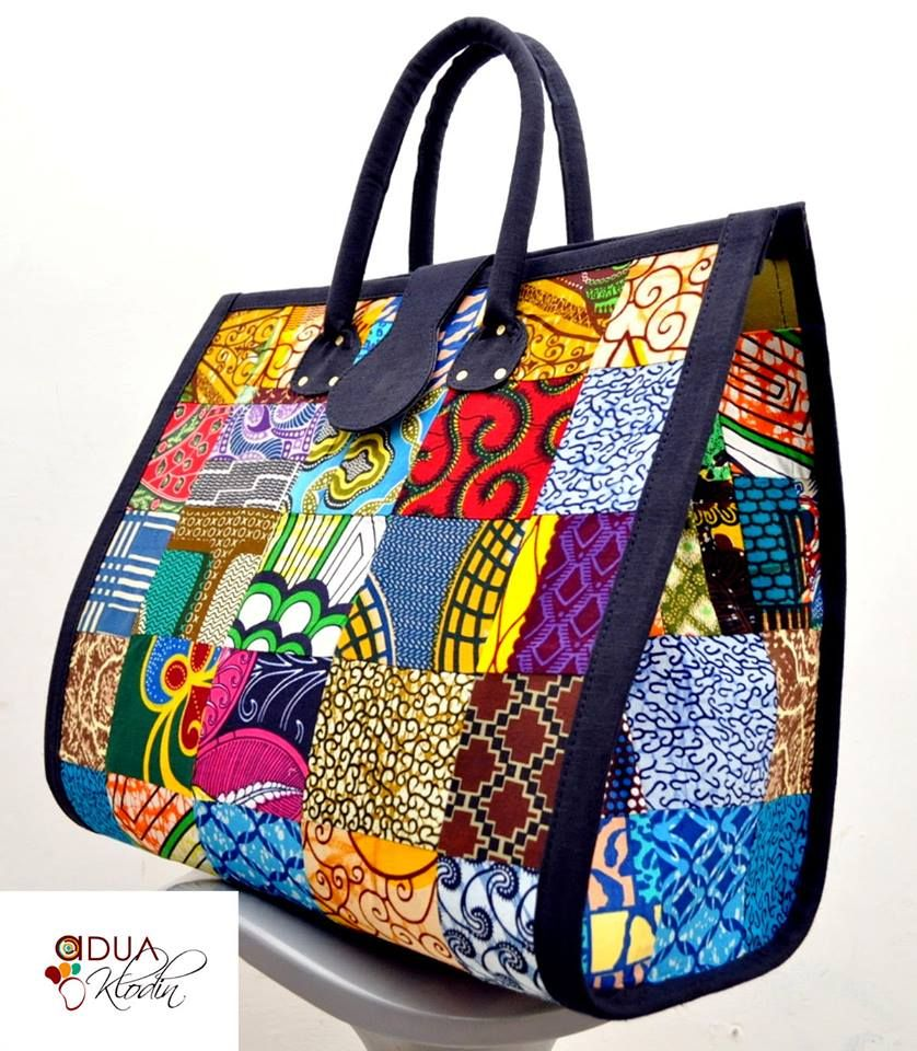 d7b0e96f9f0c African Fabric bags and shoes on sale now........ Women Green African Wax  Print…