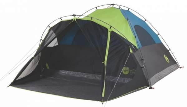 Coleman Carlsbad 6 Person Tent Fast Pitch Dark Rest Screen Room In 2020 Dome Tent Tent Tent Camping