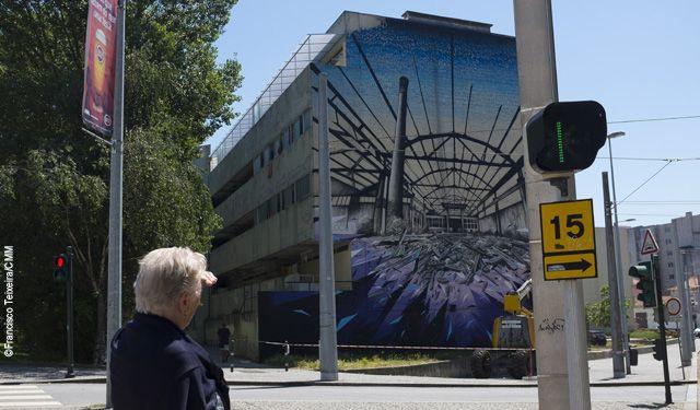 Matosinhos vai ter a primeira rota de arte urbana (street art) de Portugal. O…