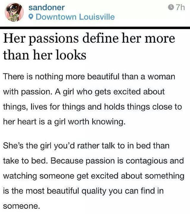 What Does Passion Mean In A Relationship
