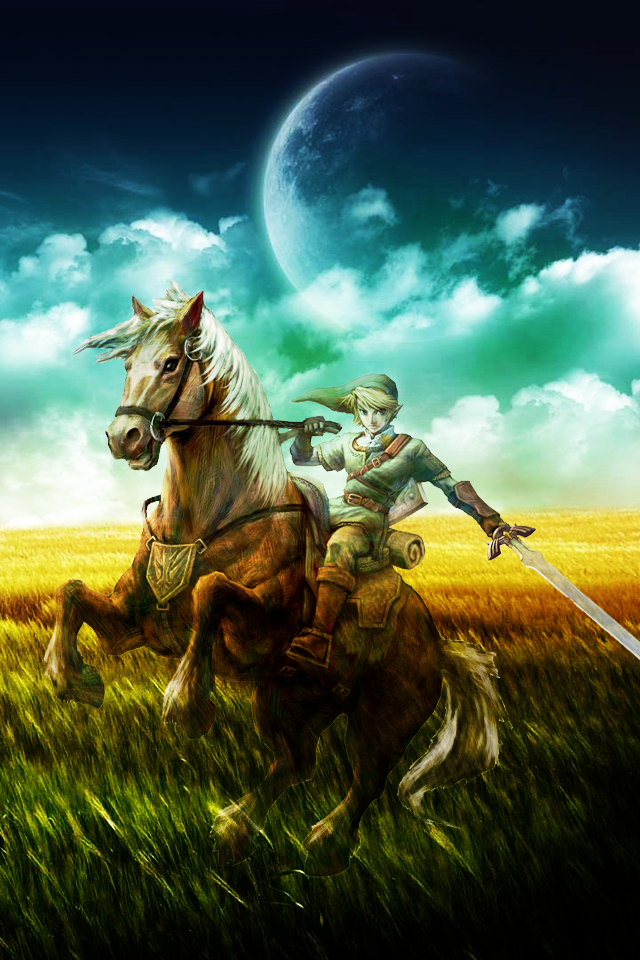 The Legend Of Zelda Hd Wallpapers For Iphone 4 Legend Of Zelda Zelda Twilight Princess Twilight Princess