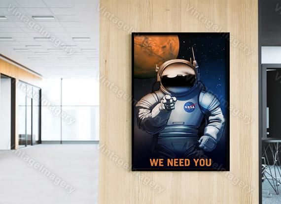 I WANT TO BELIEVE 24X36 POSTER SPACE AILIENS WALL ART WALL DECOR COOL SPACESHIP!