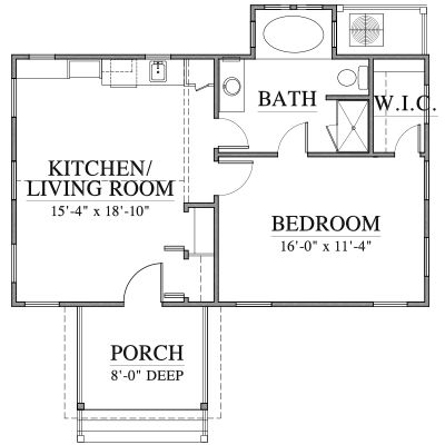 Add Kitchen To Livingroom On River House And Use Kitchen As Sunroom