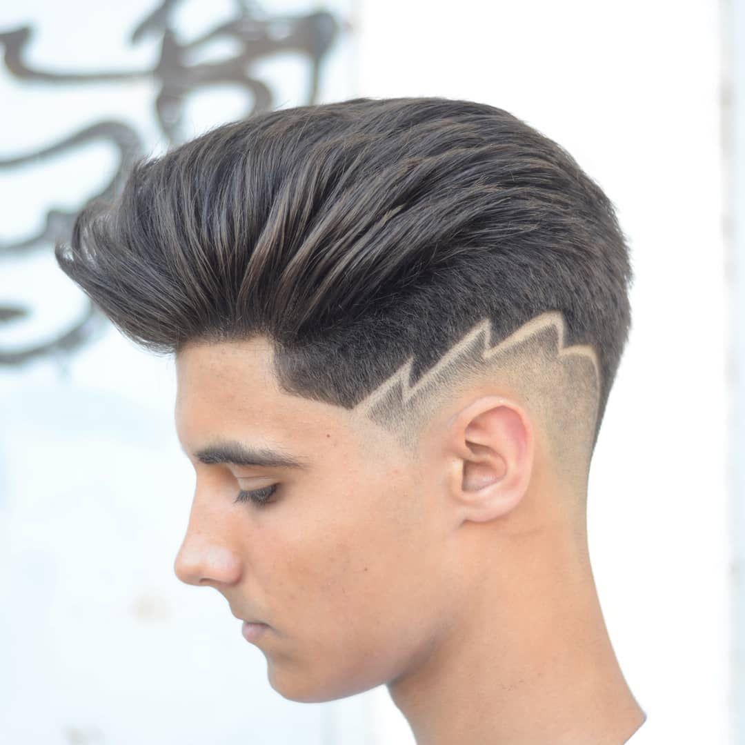 35 Awesome Design Haircuts For Men Haircut Designs Shaved Hair Designs Hair Designs For Men