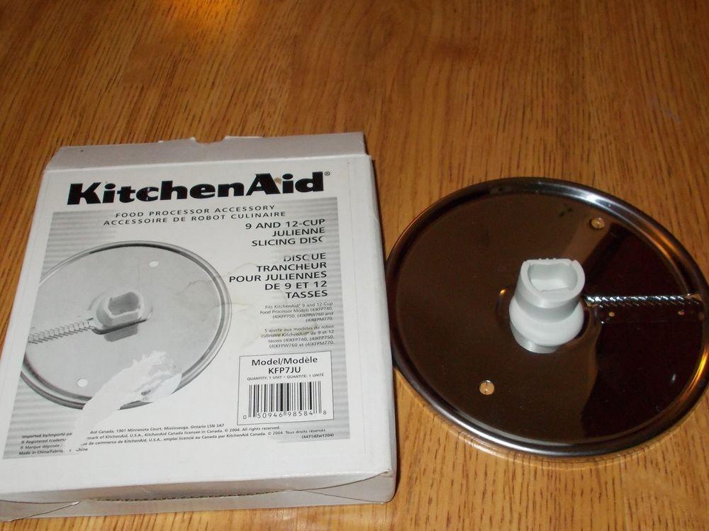 Kitchenaid 9 12 cup julienne slicing disc kfp7ju kfp740