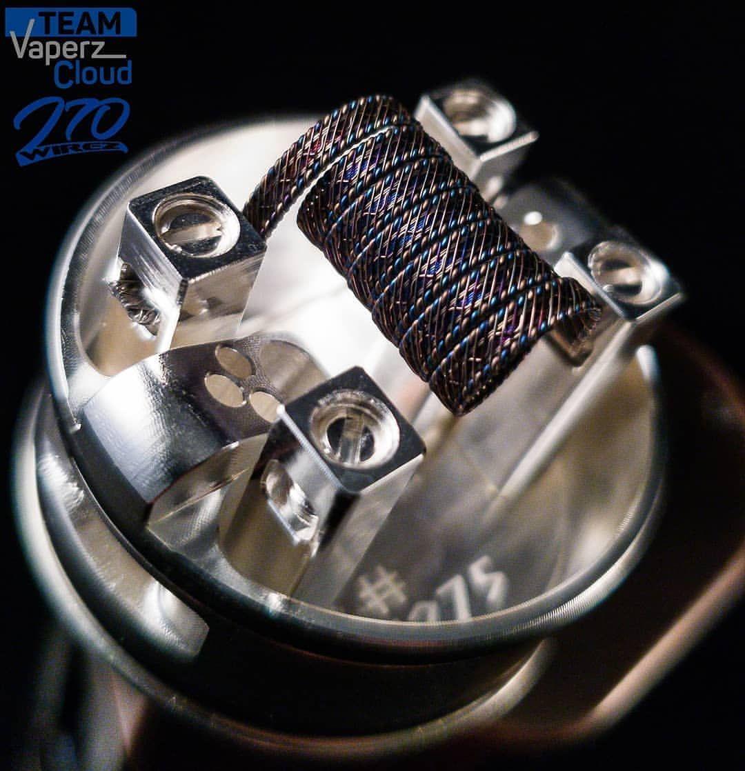 Αποτέλεσμα εικόνας για Valhalla 38mm RDA by Vaperz Cloud