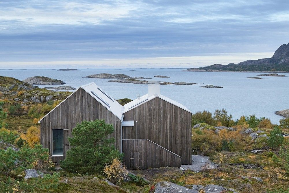 I love this cottage on the norwegian island of vega timber cladding was used for both the - Norwegian style house plans when classic meets modern ...
