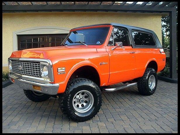1972 Chevrolet K5 Blazer Trucks Chevrolet Blazer Chevy Trucks