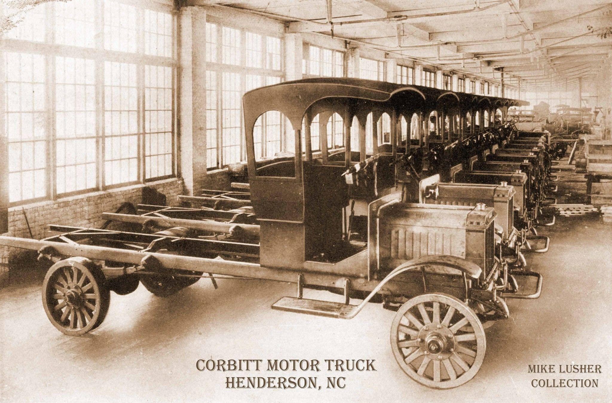 Corbitt S Being Assembled In Henderson Nc Antique Trucks
