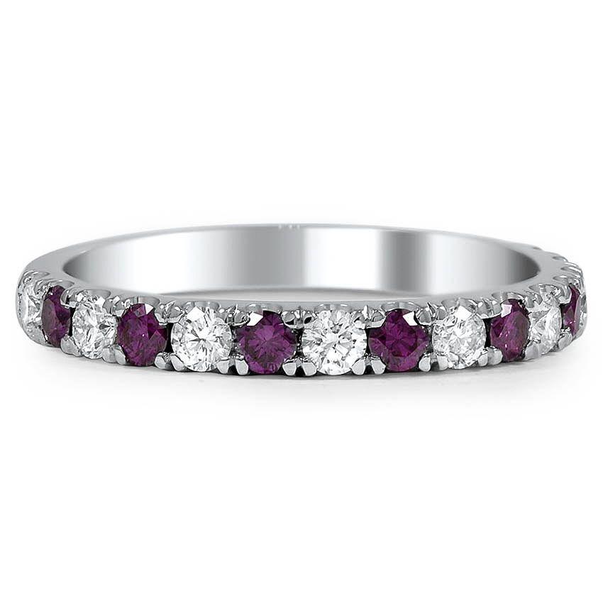 34+ Purple diamond wedding rings info