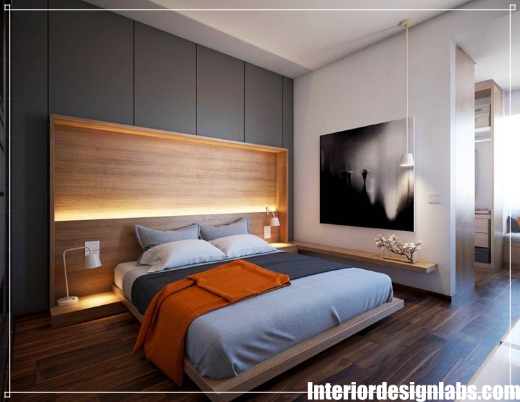 Creative Bedroom Lighting Ideas Modern Minimalist Bedroom