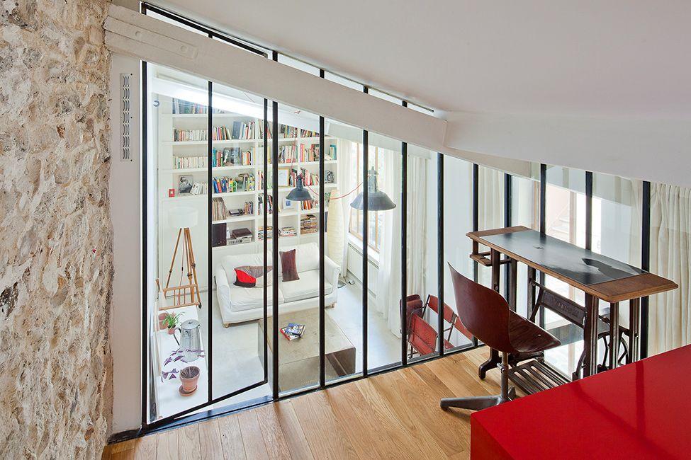 Loft & verrière style atelier d\'artiste à Paris | Lofts, Compact and ...