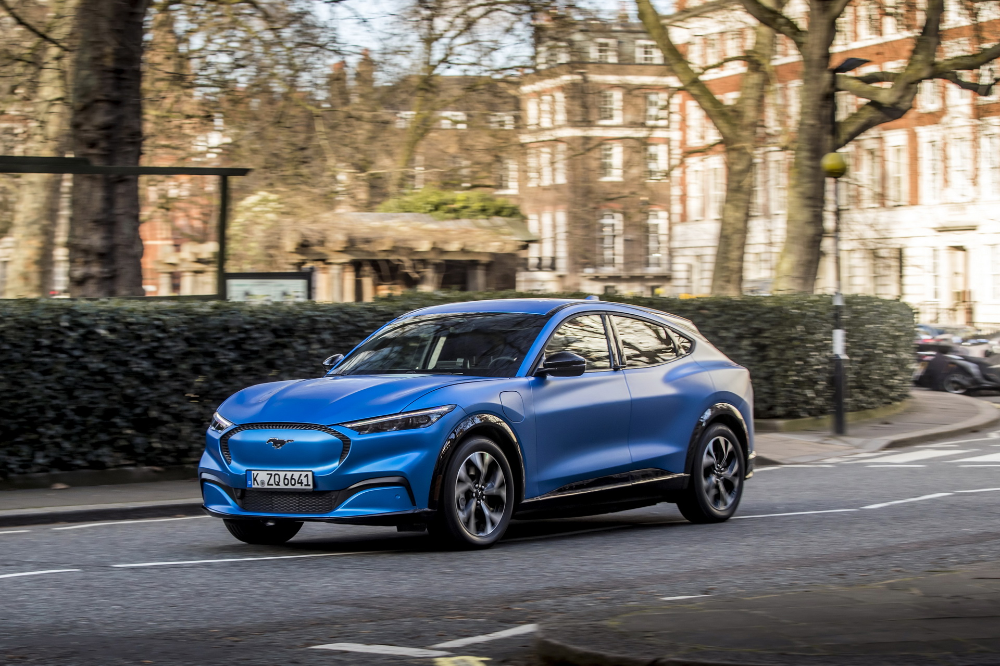 Euro Spec Ford Mustang Mach E Electric Crossover Unveiled With 600