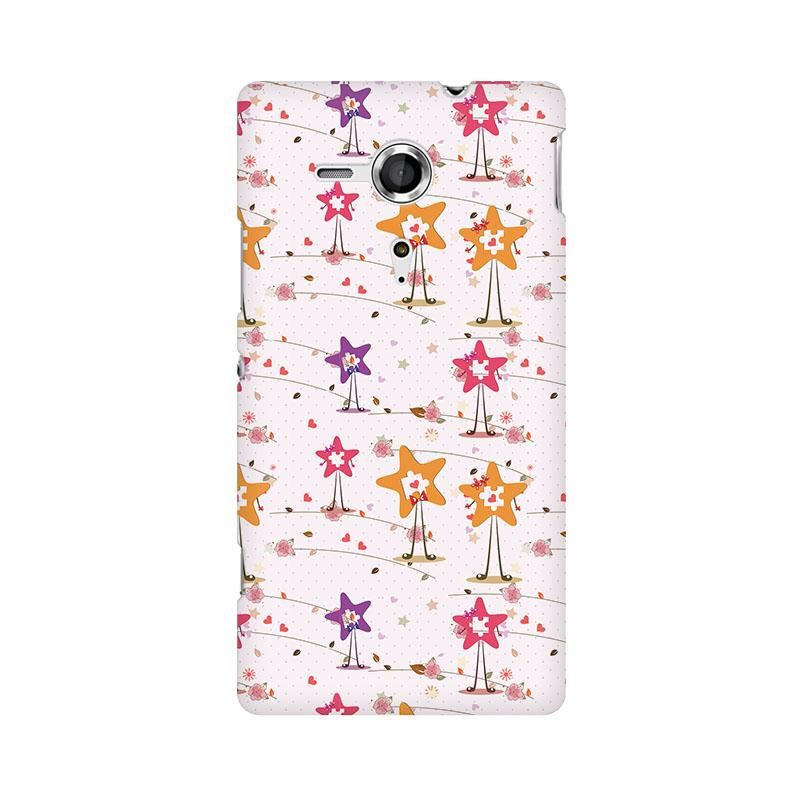Love Puzzles Phone Case for Sony Xperia SP M35H