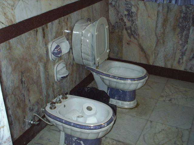 Saddam's Toilet - Gold Trim