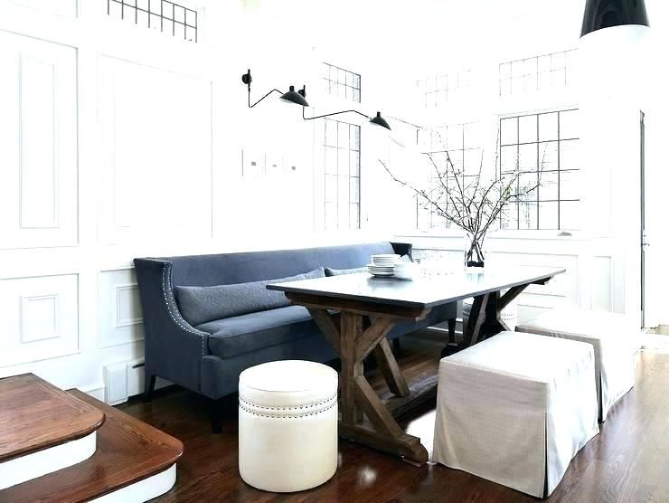 Dining Table With Couch Seating