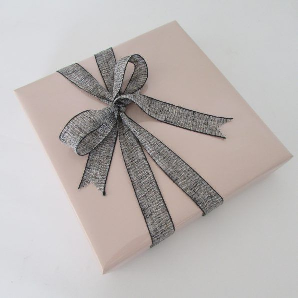 Gloss Dusky Pink Paper With Coco Ribbon I M A Huge Fan Of This
