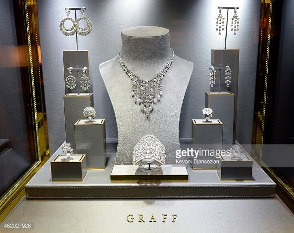 Jewelry By Graff Diamonds Is On Display During 21st Annual