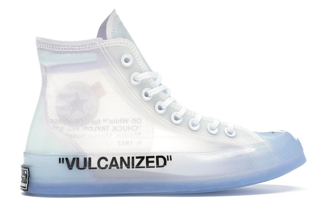 Converse Chuck Taylor All Star Vulcanized Hi Off White In 2020 Sneakers Converse Chuck Taylor All Star Converse