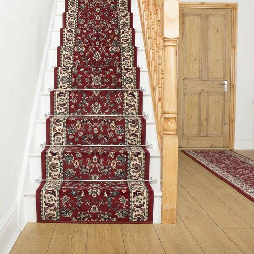Photo of Astoria Grand Carpet Adamsville in Red / Cream | Wayfair.de