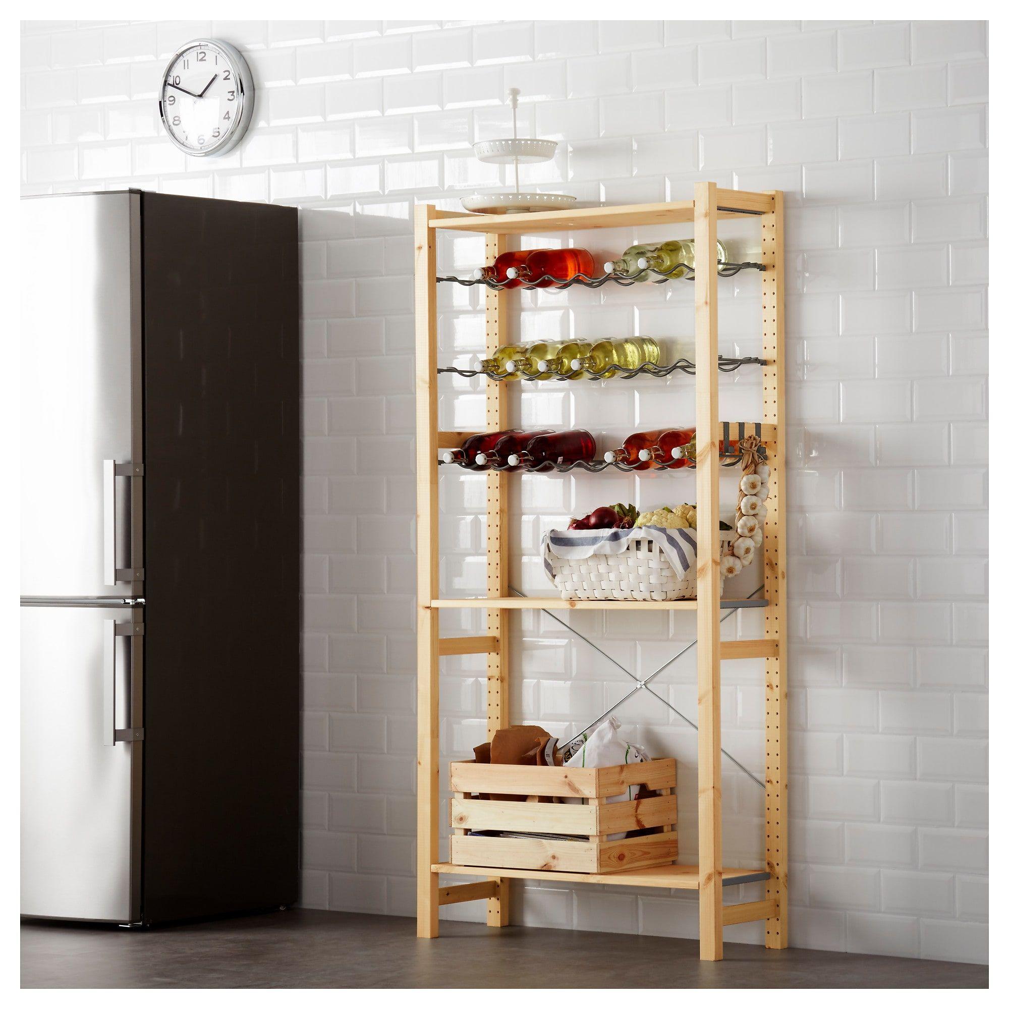 Us Furniture And Home Furnishings Shelves Ikea Ivar Shelving Unit